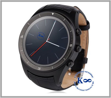 SmartWatch K8 3G black
